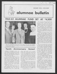 Alumnae Bulletin, 1962 November by Daemen College