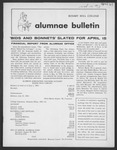 Alumnae Bulletin, 1964 April by Daemen College