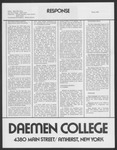 Response, 1978 Winter by Daemen College