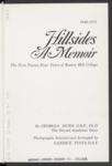 Hillsides: A Memoir: The First Twenty-Four Years of Rosary Hill College 1948-1972 by Georgia Dunn