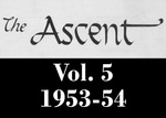 The Ascent, Vol. 05, 1953-1954 by Daemen College