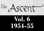 The Ascent, Vol. 06, 1954-1955 by Daemen College
