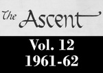 The Ascent, Vol. 12, 1961-1962 by Daemen College