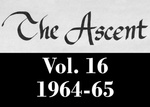The Ascent, Vol. 16, 1964-1965 by Daemen College