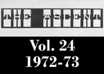 The Ascent, Vol. 24, 1972-1973 by Daemen College