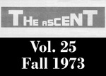The Ascent, Vol. 25, Fall 1973 by Daemen College