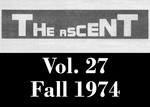 The Ascent, Vol. 27, Fall 1974 by Daemen College