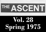 The Ascent, Vol. 28, Spring 1975 by Daemen College