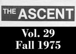 The Ascent, Vol. 29, Fall 1975 by Daemen College