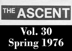 The Ascent, Vol. 30, Spring 1976 by Daemen College