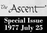 The Ascent, Special Issue, 1977-7-25 by Daemen College