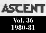 The Ascent, Vol. 36, 1980-1981 by Daemen College