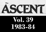 The Ascent, Vol. 39, 1983-1984 by Daemen College