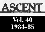 The Ascent, Vol. 40, 1984-1985 by Daemen College