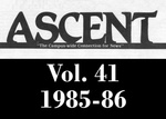 The Ascent, Vol. 41, 1985-1986 by Daemen College