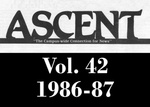 The Ascent, Vol. 42, 1986-1987 by Daemen College