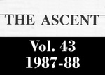 The Ascent, Vol. 43, 1987-1988 by Daemen College