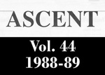 The Ascent, Vol. 44, 1988-1989 by Daemen College