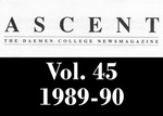 The Ascent, Vol. 45, 1989-1990 by Daemen College