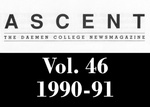 The Ascent, Vol. 46, 1990-1991 by Daemen College