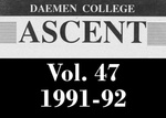 The Ascent, Vol. 47, 1991-1992 by Daemen College