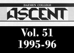 The Ascent, Vol. 51, 1995-1996 by Daemen College