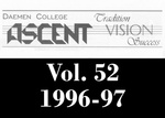 The Ascent, Vol. 52, 1996-1997 by Daemen College