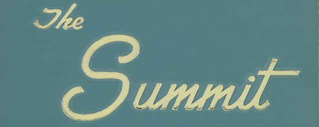 Summit, Daemen College Yearbook, 1952-2012