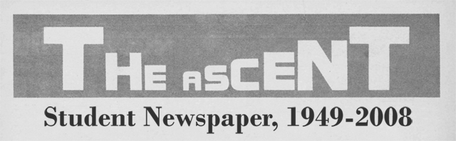 The Ascent, Daemen College Student Newspaper, 1949-2008