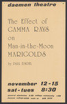 The Effect of Gamma Rays on Man-in-the-Moon Marigolds by Daemen College